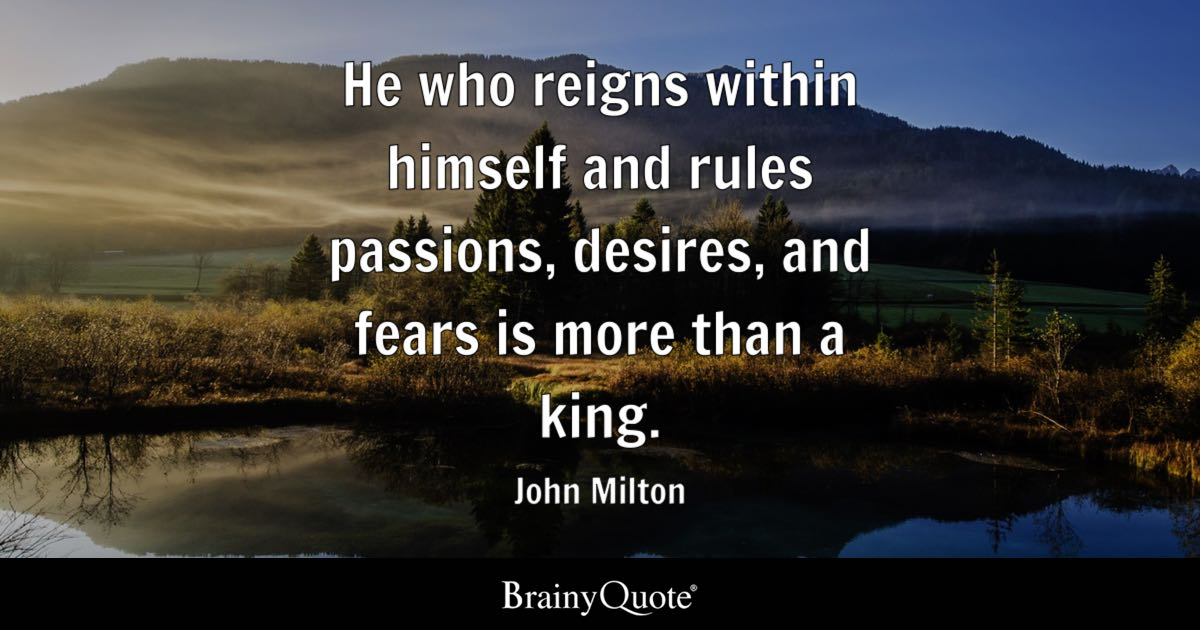 John Milton Quotes Brainyquote